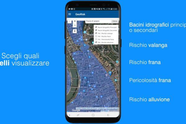 App GeoRisk, il rischio geologico a portata di clik