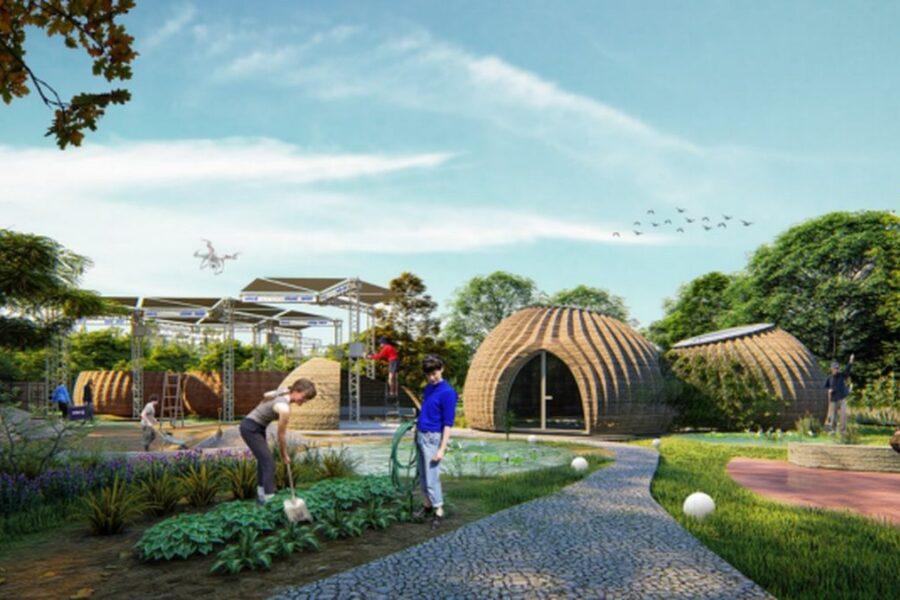 Case stampate in 3D con materiale riciclabile, la frontiera eco-sostenibile