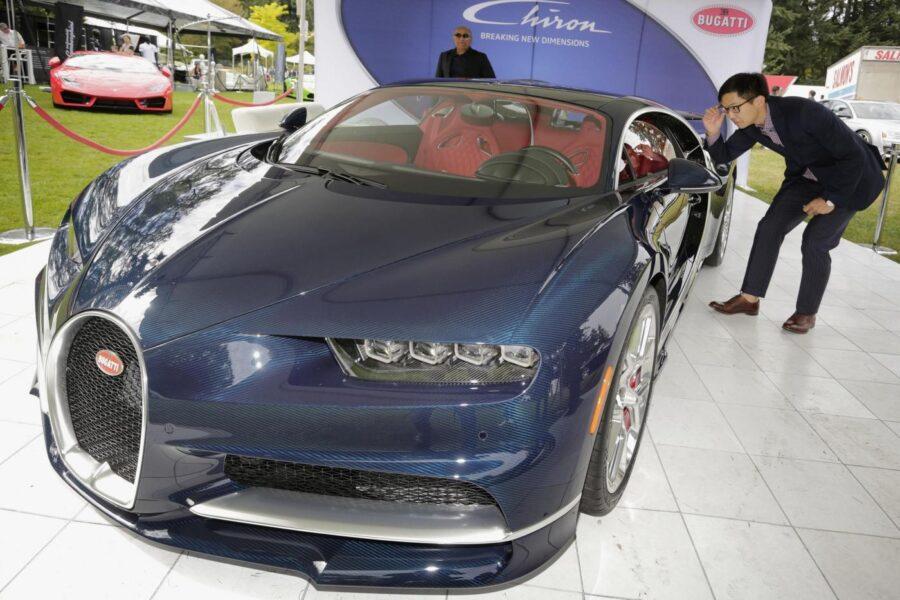 L'auto più veloce del mondo è la Bugatti Chiron