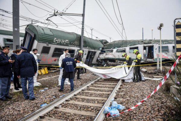 Treno deragliato, chiuse le indagini per il disastro di Pioltello