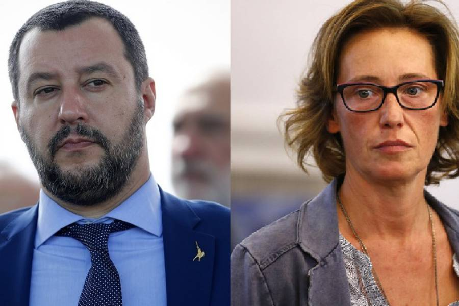 """Caso Cucchi, Ilaria querela Salvini per la frase """"La droga fa male"""""""