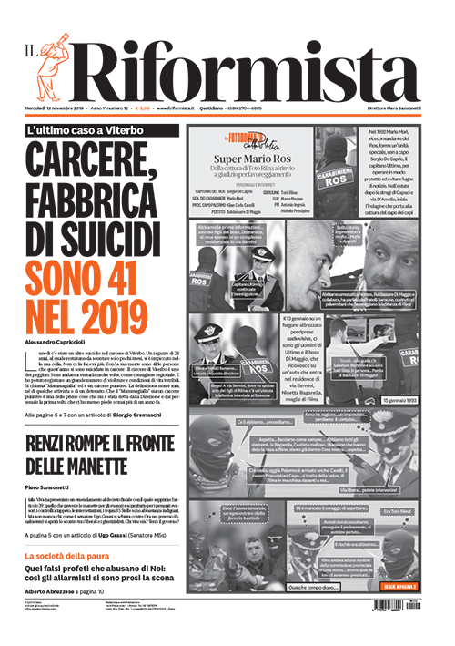 Quotidiano del 13 Novembre 2019