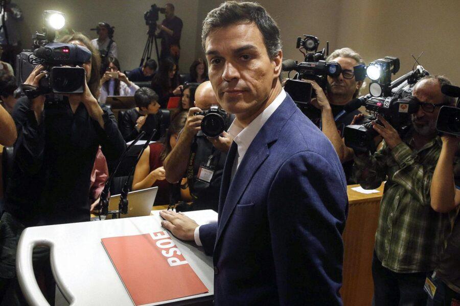 Spagna, accordo Sanchez-Iglesias per governo di sinistra