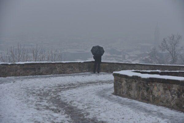 Maltempo, neve in Trentino in 15.000 senza corrente