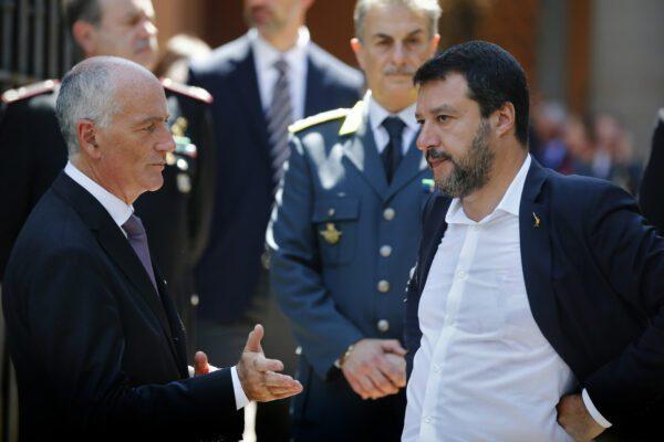 """Il capo della Polizia demolisce Salvini in un video 'rubato': """"Usa lo sfintere di un altro"""""""