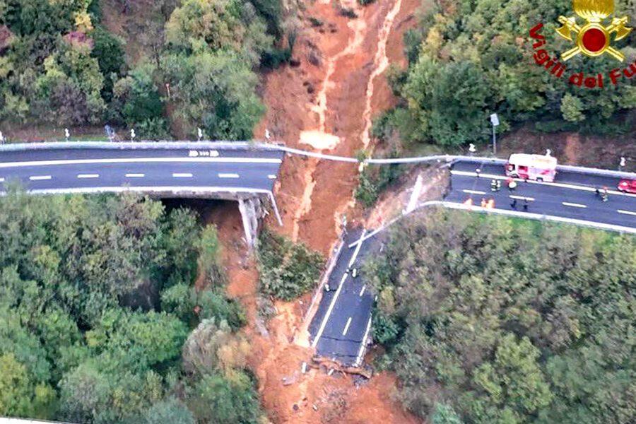 a6 viadotto crollato
