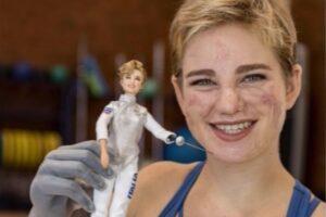 Bebe Vio, la campionessa paralimpica diventa una Barbie