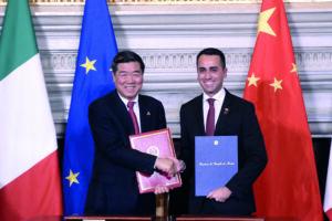 Un fallimento accordo Italia-Cina del Conte 1: 16,5mld di rosso sul saldo commerciale