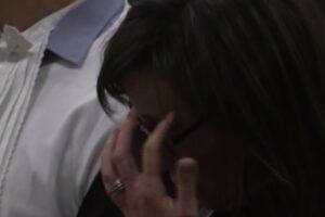 L'emozione di Ilaria Cucchi alla lettura della sentenza di condanna dei carabinieri