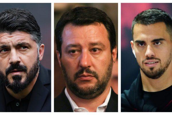 Salvini vs Milan: da Gattuso a Suso il battibecco continua