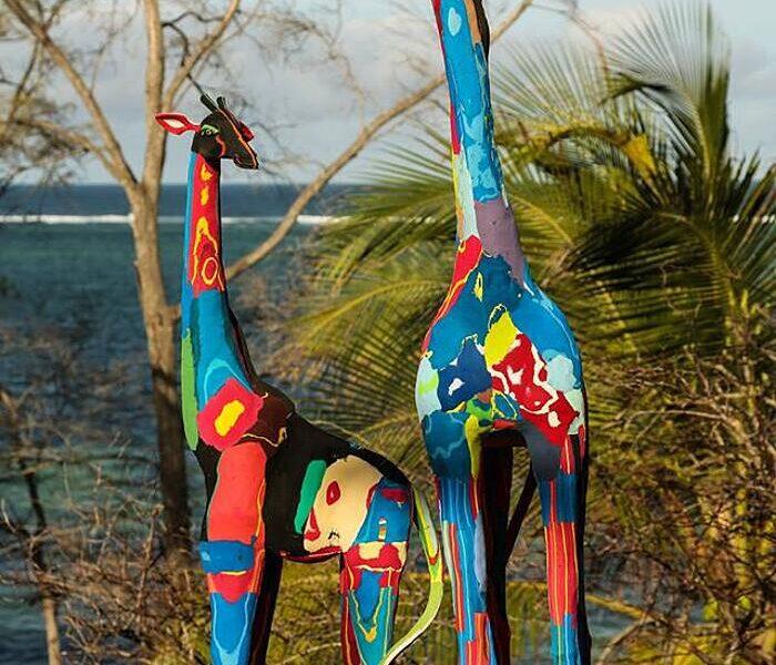 Kenya, le infradito diventano opere d'arte