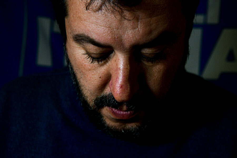 Sondaggio Demos: Lega per la prima volta sotto il 30%, boom delle Sardine