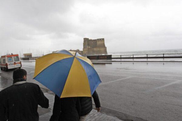 Campania, torna il maltempo: allerta meteo della Protezione Civile