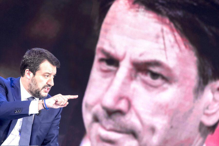 Salva-Stati, Conte sfida Salvini: ti querelo, rinunci all'immunità?