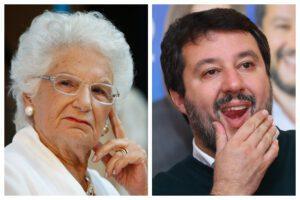 No, Salvini, tu e Liliana Segre non siete uguali