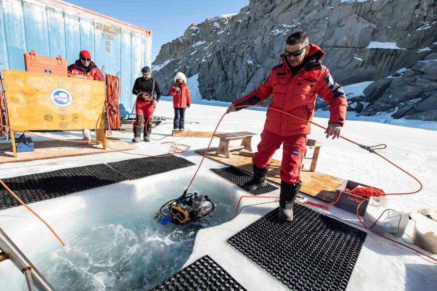 Missione scientifica in Antartide per Esercito, Carabinieri e Marina militare