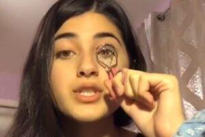 Finge un tutorial sul make up per denunciare i lager cinesi e beffa la censura