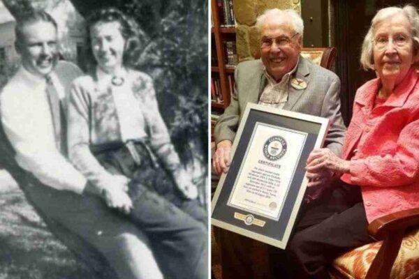 Lui ha 106 anni, lei 105: Festeggiano 80 anni di matrimonio, il più lungo della storia