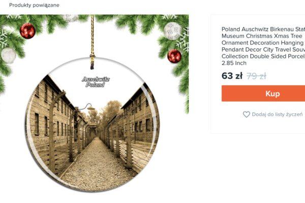 Natale, Amazon ritira dalla vendita le decorazioni con immagini di Auschwitz