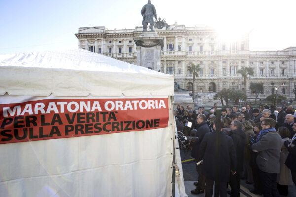 Riforma Bonafede, proteste dei penalisti: è distruttiva, va fermata