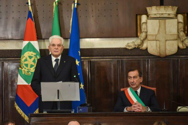 """Strage di piazza Fontana, Mattarella: """"Stato doppiamente colpevole per depistaggi"""""""