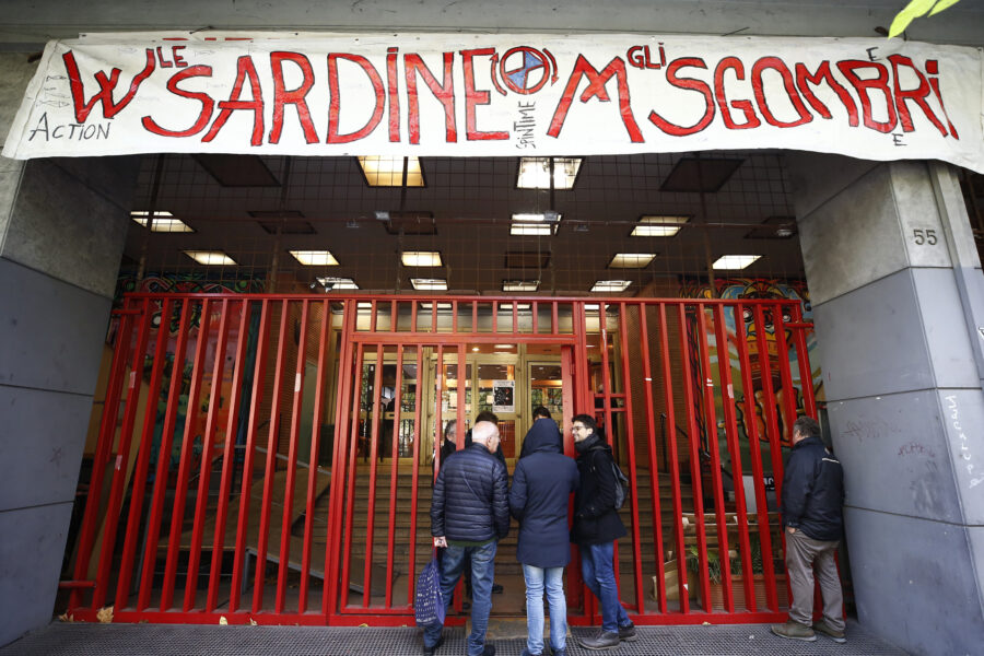 """Sardine a 'congresso' a Roma: """"Puntiamo a superare il 25% ma nessuna lista in Emilia"""""""
