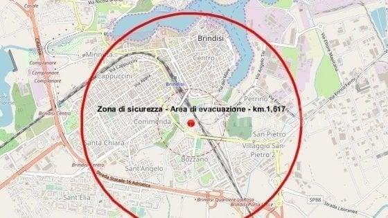 Brindisi, evacuati in 54mila per il disinnesco di un ordigno bellico