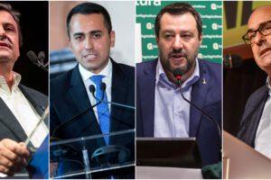Sondaggio Tecnè: la Lega torna a correre, cresce la sfiducia nei partiti di governo