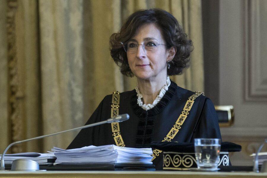 Coronavirus, positiva al tampone la presidente della Corte costituzionale Cartabia