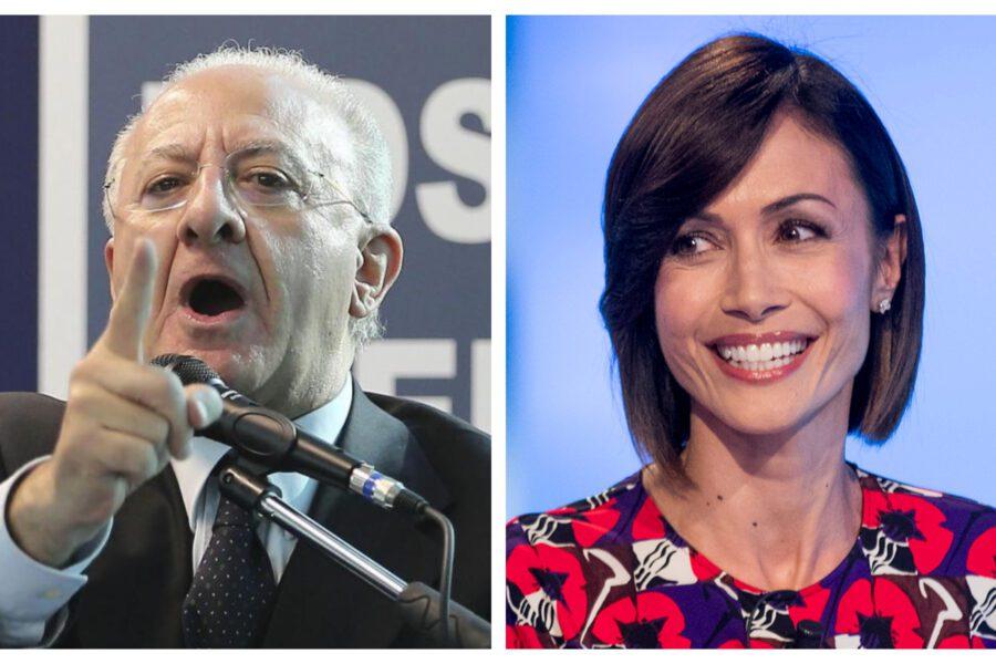 Leader in tv: perché la moderata Carfagna vince sull'istrionico De Luca