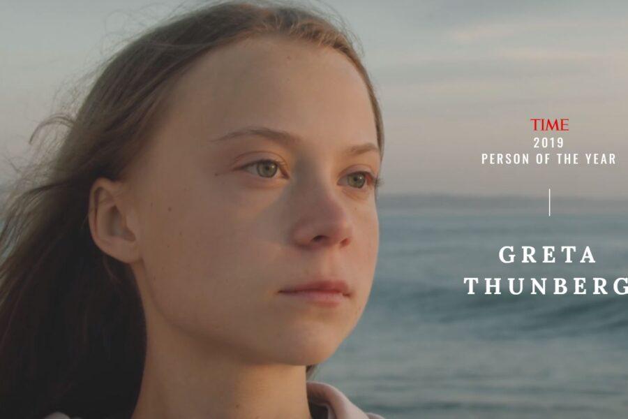 """Greta Thunberg è la """"Persona dell'anno"""" per il Time"""