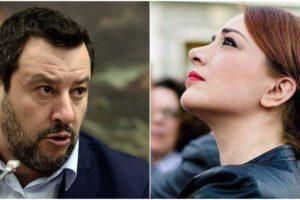 """La 'sardina' Jasmine scrive a Salvini: """"Mi batto per mia figlia e per la sua"""""""