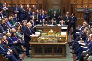Brexit, primo sì in Parlamento all'accordo del premier Boris Johnson