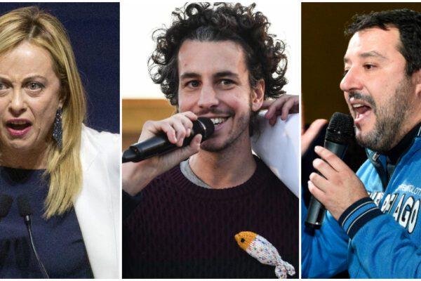 Sondaggio EMG: cresce la popolarità di Mattia Santori, Lega giù