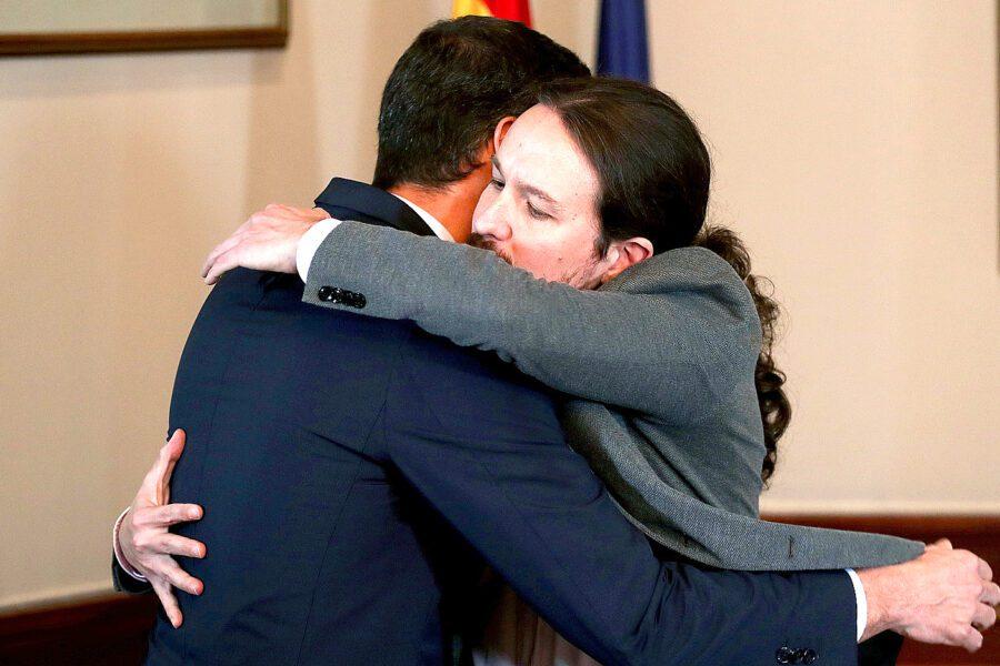 Spagna, accordo tra socialisti e Podemos per il governo