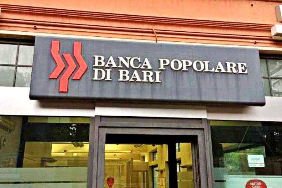 Popolare di Bari, il piano: Banca di investimento e 900 milioni per le imprese al Sud