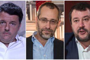 """Caso Formigli, seguaci di Renzi paragonati alla """"Bestia"""" social di Salvini: ma sono solo appassionati"""
