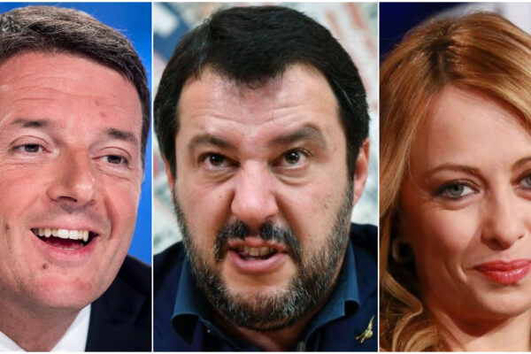 Sondaggio Swg: Lega in forte calo, bene Renzi e Fratelli d'Italia