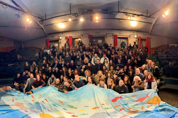 """A Roma prima riunione nazionale delle sardine: """"Obiettivo tornare nelle piazze"""""""