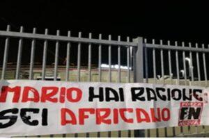 Insulti contro Balotelli allo Stadium di Torino, denunciati tre dirigenti di Forza Nuova