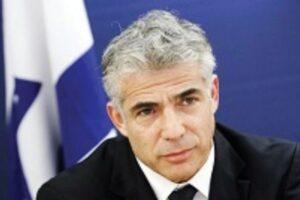 """Israele, intervista a Lapid: """"Netanyahu aizza la piazza per salvare se stesso"""""""