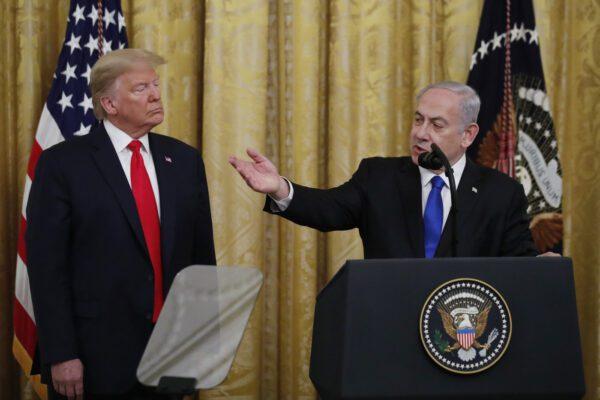 Piano per la pace in Medio Oriente, Trump prevede uno stato palestinese
