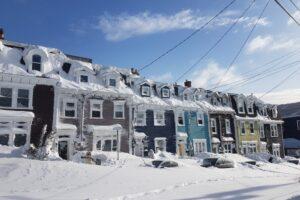 Ciclone bomba in Canada, città sommerse da metri di neve
