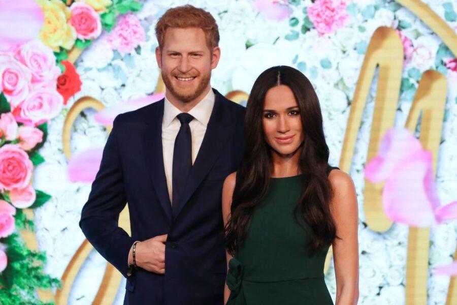 Harry e Meghan si separano dalla Royal Family anche al Madame Tussauds