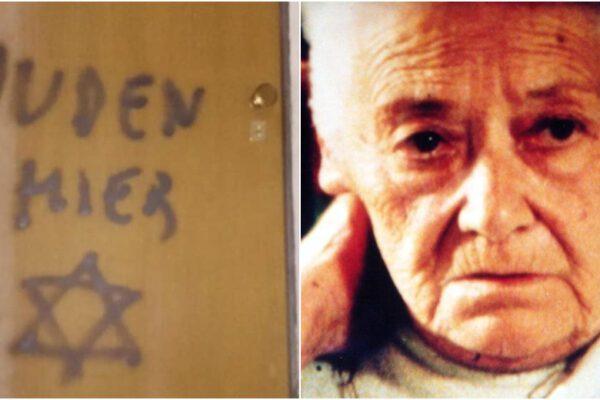 """""""Qui ci sono ebrei"""", scritta antisemita sulla porta di casa della partigiana deportata nei lager"""