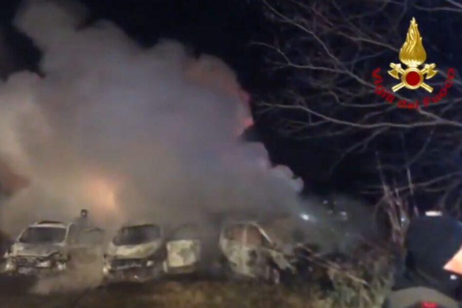Fallito assalto a portavalori, inferno a Lodi sull'autostrada A1