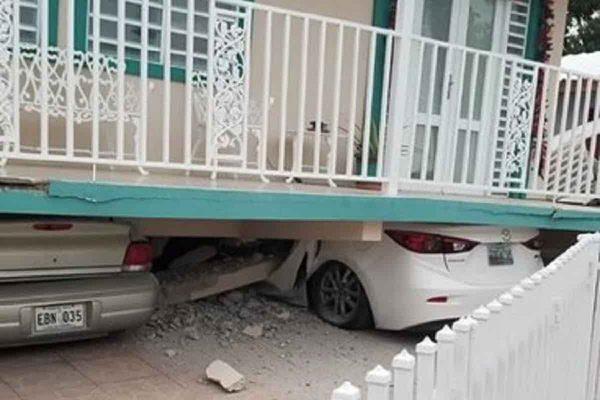 Forti scosse di terremoto a Portorico, crolla la chiesa di Guayanilla