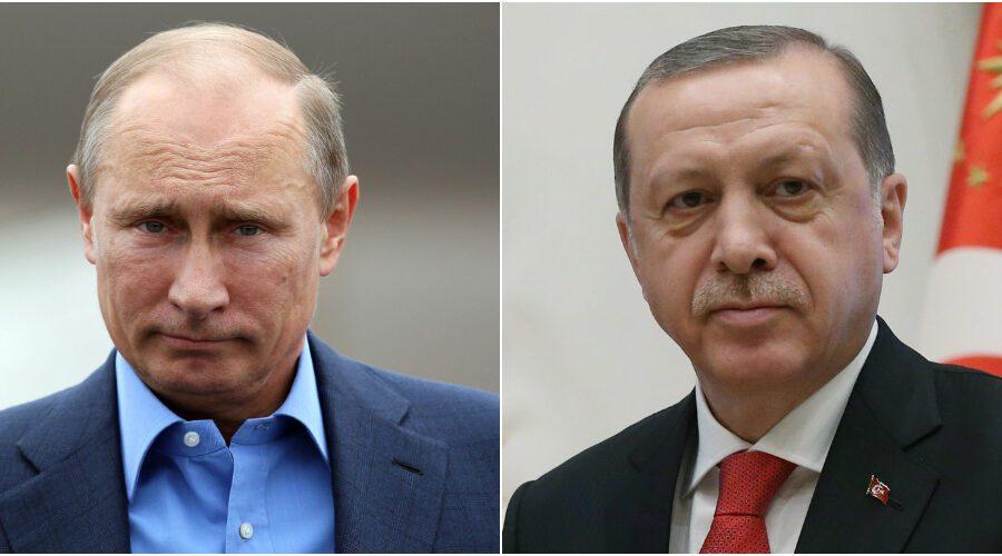 Libia, prove d'intesa nel vertice tra Erdogan e Putin