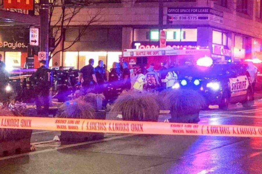 Seattle, sparatoria in pieno centro: un morto e 7 feriti