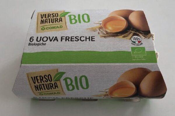 Uova a marchio Conad e Amadori ritirate dal Ministero della Salute: sono a rischio contaminazione
